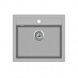 Chiuveta de bucatarie Aquasanita Quadro SQQ100-220AW - argent