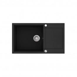 Chiuveta de bucatarie Tesa SQT104-601AW - negru metalic