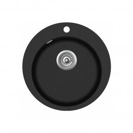 Chiuveta de bucatarie Aquasanita Clarus SR100-601AW - negru metalic