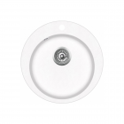 Chiuveta de bucatarie Aquasanita Clarus SR100-710AW - alb