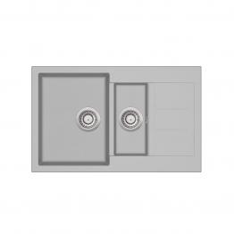 Chiuveta de bucatarie Tesa SQT151-220AW - argent