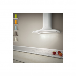 Hota decorativa Elica Sweet WHITE F/85