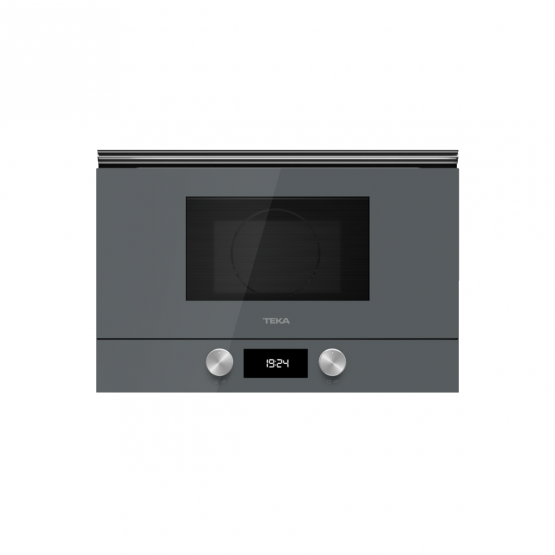Cuptor incorporabil cu microunde si grill Teka ML 8220 BIS L - Cristal Stone Grey