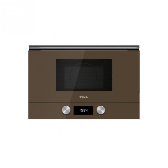 Cuptor incorporabil cu microunde si grill Teka ML 8220 BIS L - Cristal London Brick Brown