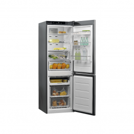 Combina frigorifica Full No Frost Whirlpool W9 821C OX
